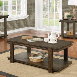 Millwood Pines Stackhouse Rustic Coffee Table