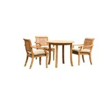 Masten 4 Piece Teak Dining Set