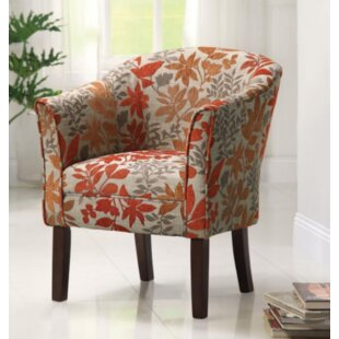 Boutell Barrel Chair by Alcott Hill