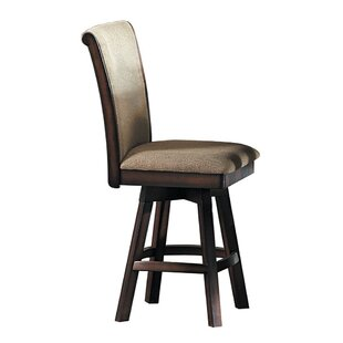 Alisson Swivel Bar Stool by Darby Home Co