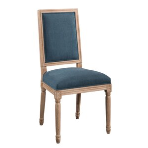 Manlius Vintage Rectangle Back Upholstered Dining Chair by Ophelia & Co.