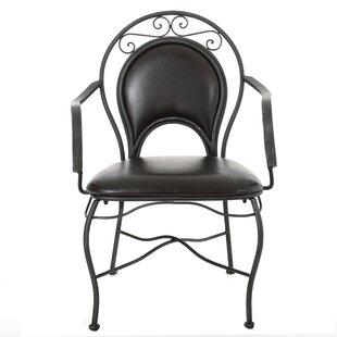Bleeker Iron Armchair by Home Loft Concepts