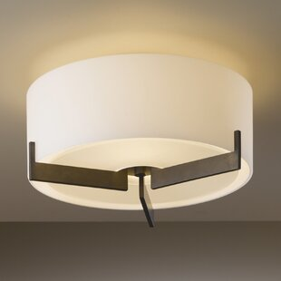 Hubbardton Forge Axis Small 1-Light Flush Mount
