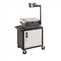 Attirant High Low Priced Table AV Cart With Locking Cabinet/Big Wheels