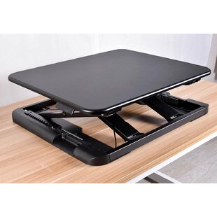 Kelson Ergonomic Lock Mechanism Sit To Stand Up Workstation Standing Desk Converter by Symple Stuff Comparison