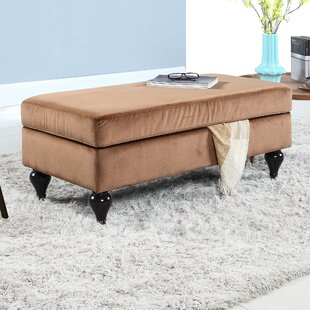 Keefe Upholstered Storage Bench by Winston Porter