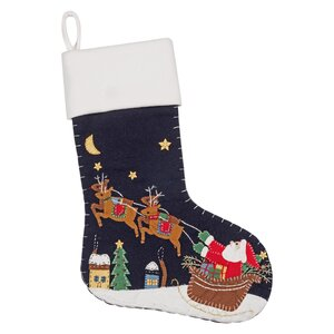 Christmas Stocking in Santa