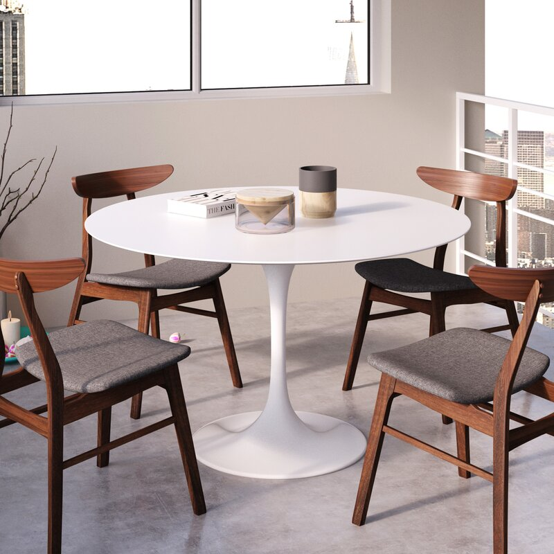 Allmodern Lucy Matte Lacquer Dining Table Reviews Wayfair