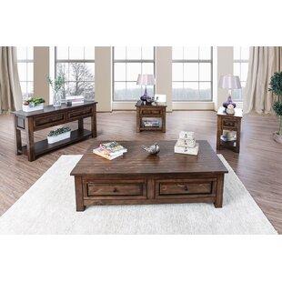 Bertha 4 Piece Coffee Table Set