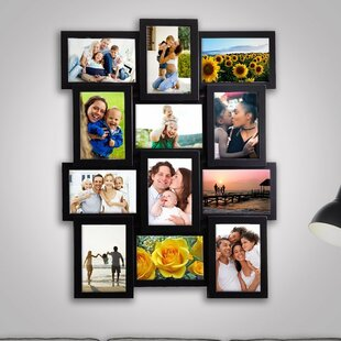 Gerhardt Gallery Collage Wall Hanging 12 Opening Photo Sockets Picture Frame