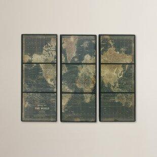 3 Panel Wood Wall Art Wayfair