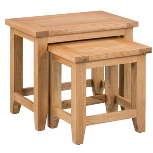 Cotswold 2 Piece Nest Of Tables By Natur Pur