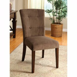 Zaria Tufted Solid Wood Dining Chair (Set of 2) by Gracie Oaks