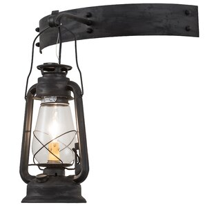 Deals Yonker Outdoor Wall Lantern By Loon Peak