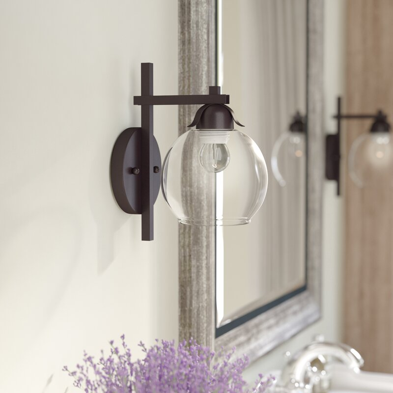 Glenpool 1 Light Armed Sconce