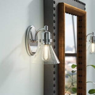 Nicastro 1-Light Armed Sconce by Williston Forge