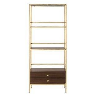 Arrighetto 4 Tier Etagere Bookcase by Trent Austin Design