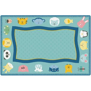 KIDSoftu2122 Quiet Time Animal Playmat