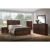 Harper Platform Solid Wood Configurable Bedroom Set by Red Barrel Studio