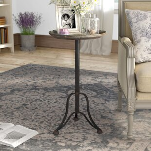 Pearl Metal End Table by Laurel Foundry Modern Farmhouse