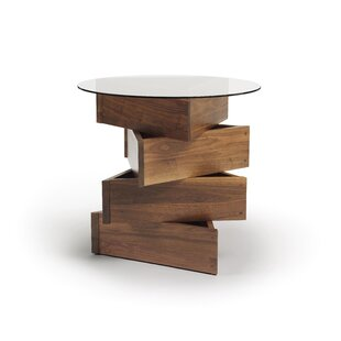 Twist Statements End Table by Copeland Fu..