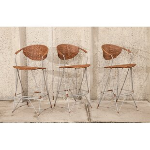 Zen Outdoor 30 Bar Stool Bungalow Rose