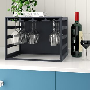 Carnesville 20 Bottle Tabletop Wine Glass Rack