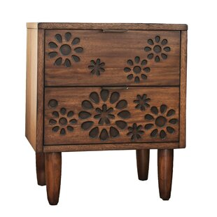 Alayah 2 Drawer Nightstand