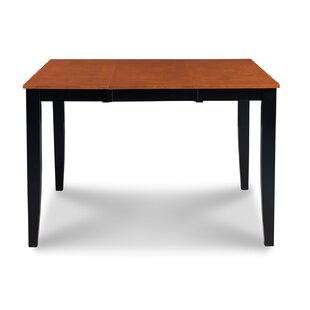 Charlestown Counter Height Extendable Solid Wood Dining Table Alcott Hill