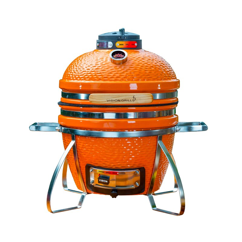 13.5 in. Cadet Built-In/Kamado Charcoal Grill