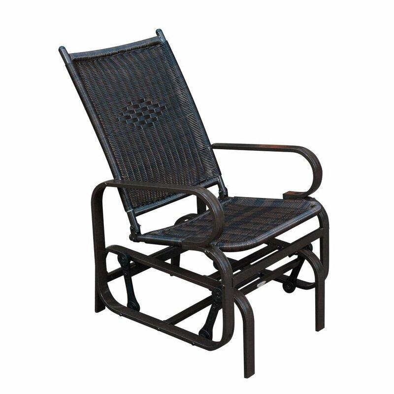 Gemma Patio Glider Chair