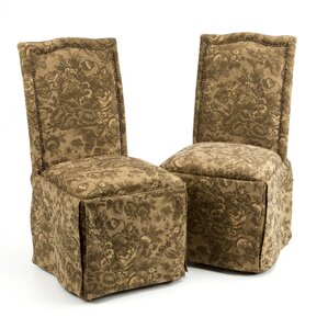 Burley Oak Parsons Chair (Set of 2) by Alcott Hill