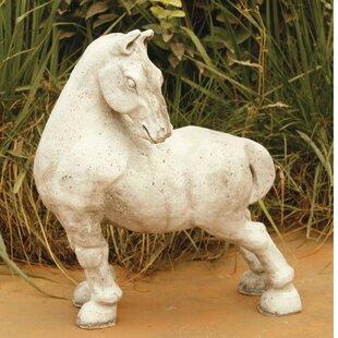 OrlandiStatuary Animals Peking Horse Statue