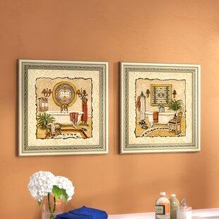 Art mural de salles de bain et de lavage: Nombre de pièces ...