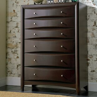 Affordable Price Wexford 6 Drawer Chest by Wade Logan