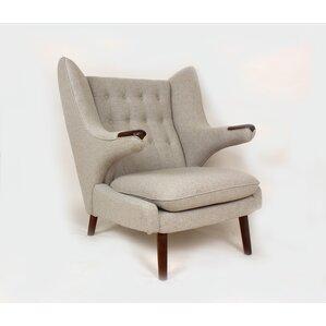 The Olsen Wing back Chair by Stilnovo