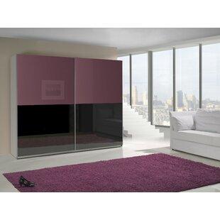 Weiss 2 Door Sliding Wardrobe By Ebern Designs
