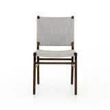 Traft Upholstered Dining Chair in Manor Gray by Brayden Studio®