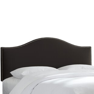 Willa Arlo Interiors Doleman Nail Button Upholstered Panel Headboard