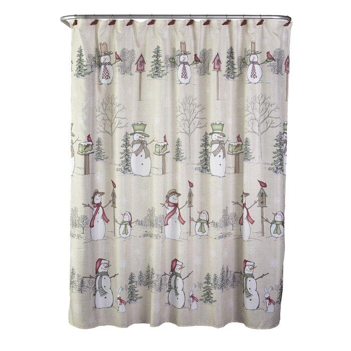 Erdmann Shower Curtain + Hooks