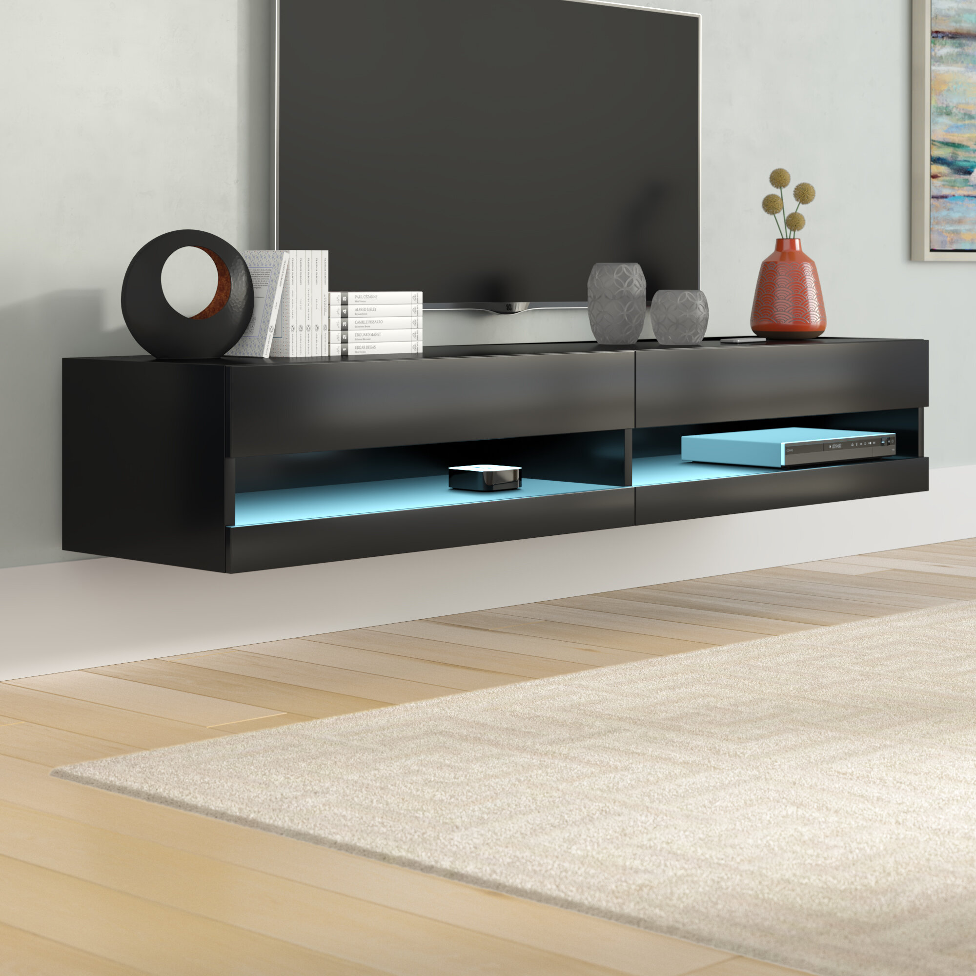 Wayfair Floating Tv Stands Entertainment Centers You Ll Love In 2021