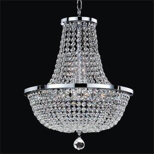 Glow Lighting Synergy 8-Light Chandelier