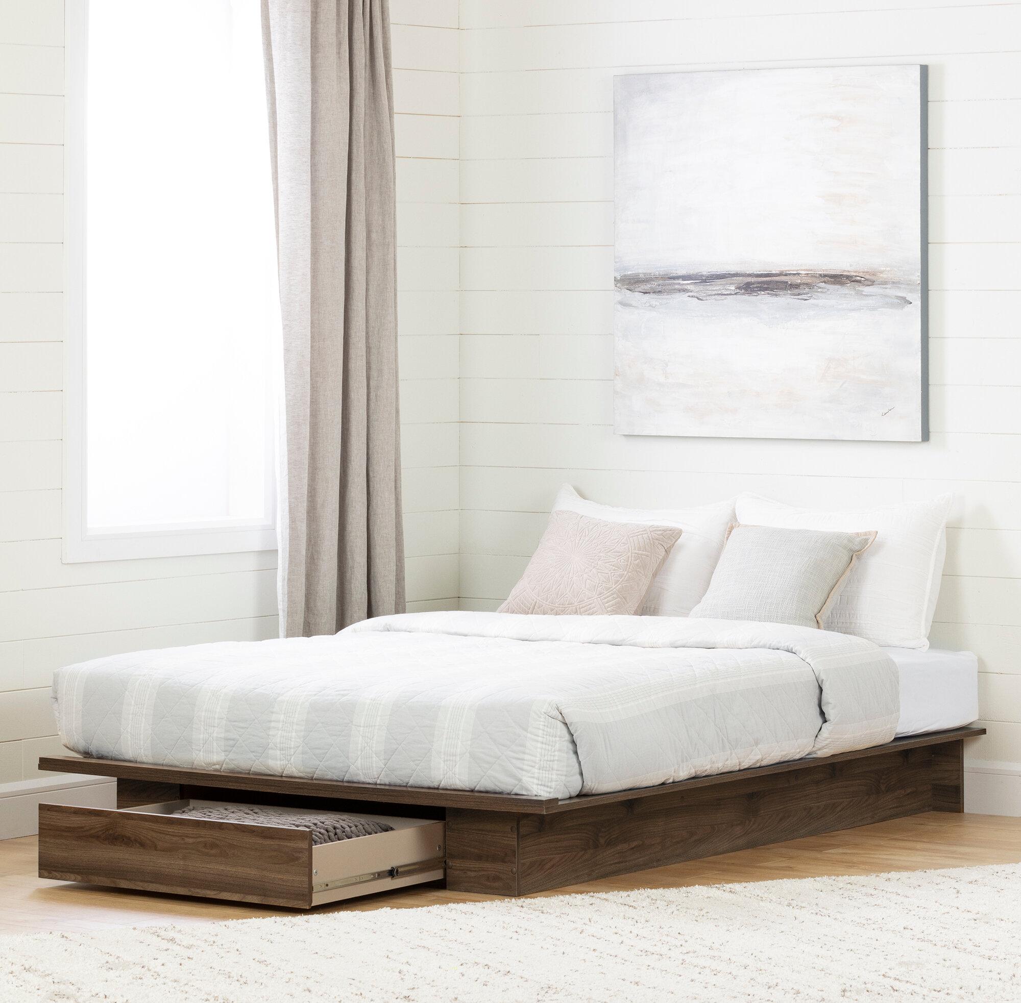South Shore Tao Queen Storage Platform Bed Reviews Wayfair