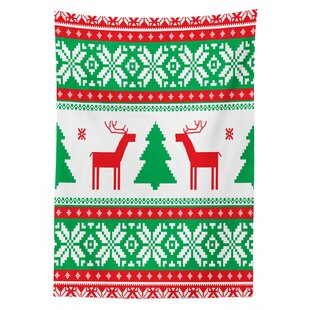 Orrin Holiday Season Deer Tablecloth By The Seasonal Aisle