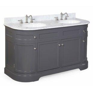 Montage 60 Double Bathroom Vanity Set
