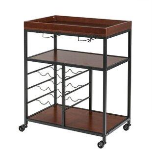 Top Rated Bar Cart 17 Stories Arreola Storage Serving Bar Cart