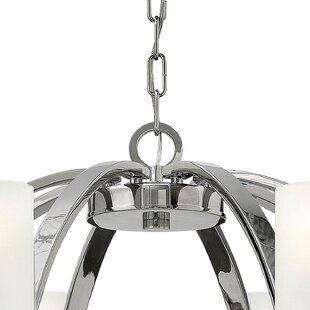 Langley Street Darrell 6-Light Shaded Chandelier