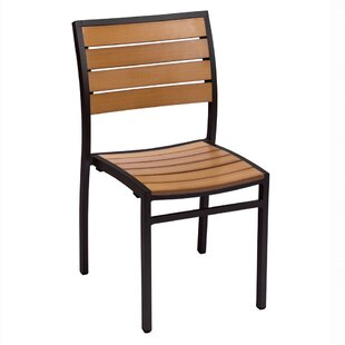 Largo Stacking Teak Patio Dining Chair