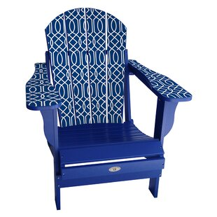 Latitude Run Keown Plastic Folding Adirondack Chair