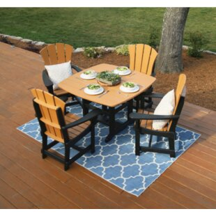 Rosecliff Heights Yeager 3 Piece Dining Set